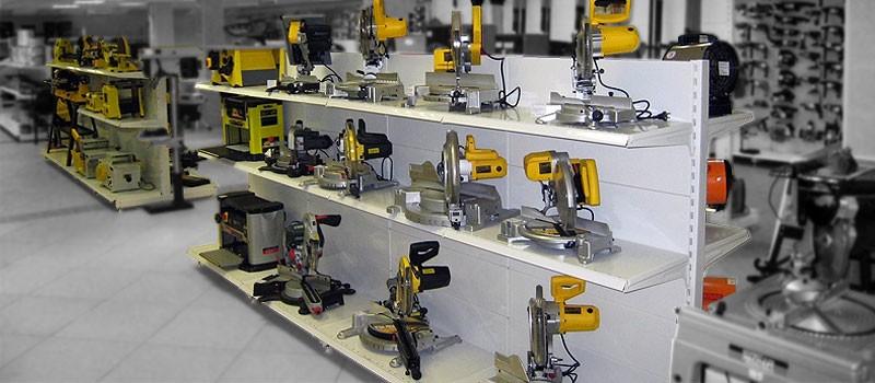 Торговое оборудование для магазинов электротоваров