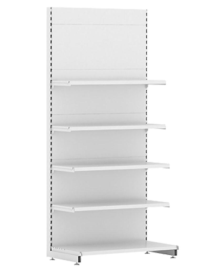 Стеллаж торговый EcoLine пристенный (470x665x2250)