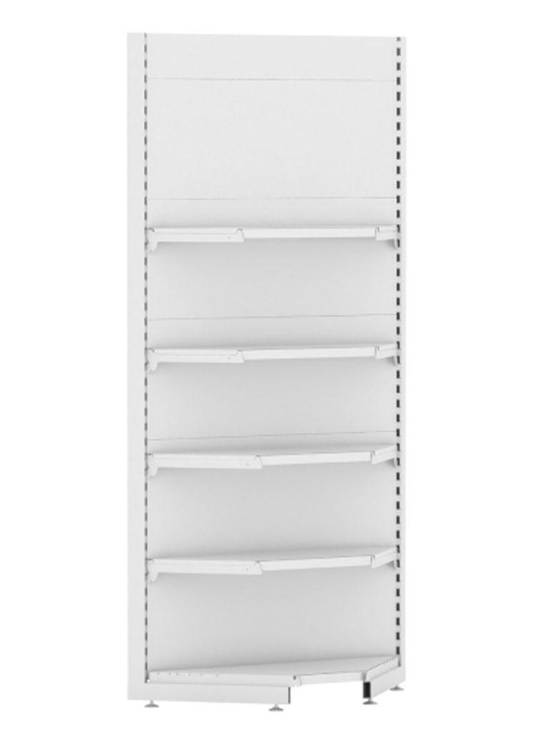 Стеллаж торговый EcoLine угловой внутренний
