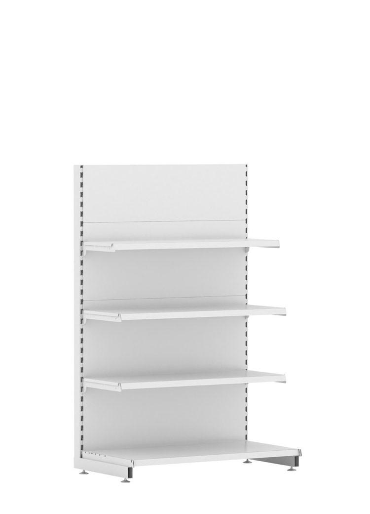 Стеллаж торговый EcoLine торцевой (470х1000х1600)