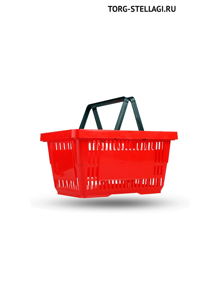 Корзина покупательская пластиковая (20л)