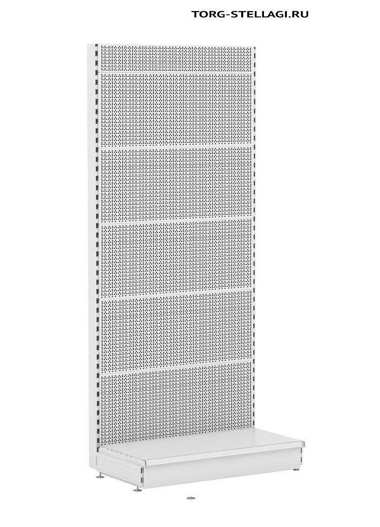 Стеллаж торговый Stahler перфорированный (470X1250X2300)